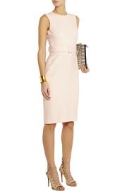 Alexander McQueenBelted crepe pencil dress