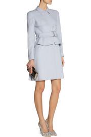 Alexander McQueenBelted crepe coat