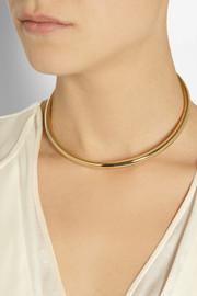 Maison Martin MargielaGold-tone necklace, bracelet and ring