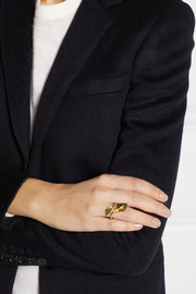 Aurélie Bidermann Monteroso gold-plated ring