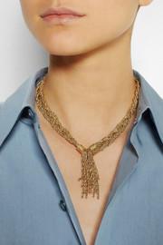 Aurélie BidermannMiki gold-plated rope necklace