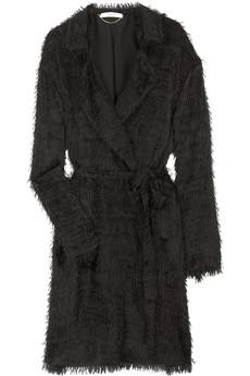 Vanessa BrunoFringed silk coat