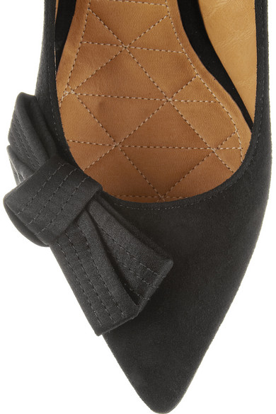 2684fb5e167 Isabel Marant. Poppy bow-detailed suede pumps.  432. Zoom In