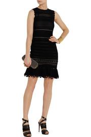 Alexander McQueenCrocheted cotton-blend dress