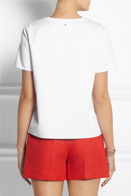 Valentino T-shirt en jersey de coton