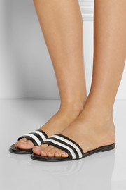 NewbarK Roma striped leather sandals
