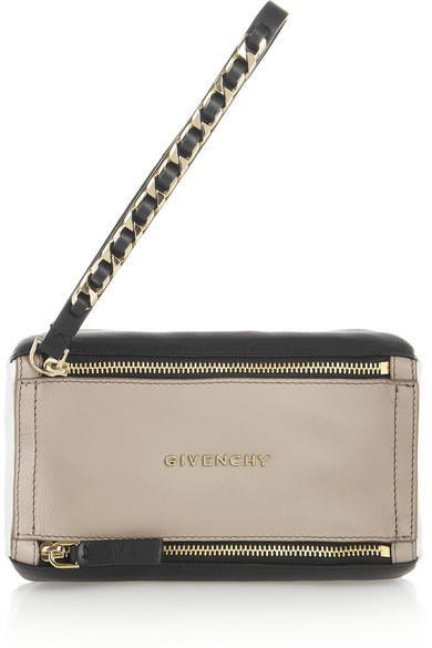 7305565fa94 Givenchy   Pandora wristlet clutch in textured-leather   NET-A ...