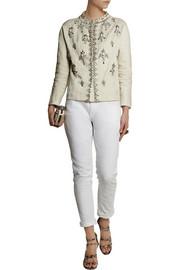 BiyanKarel embellished cotton-blend faille jacket