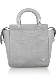 Small House de Givenchy bag in lizard-effect leather