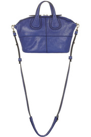 Givenchy Micro Nightingale bag in blue leather