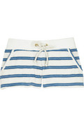 Juicy Couture Striped Lurex shorts