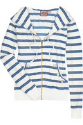 Juicy Couture Striped hooded top