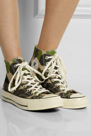 Converse Chuck Taylor All Star '70 printed canvas high-top sneakers
