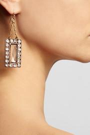 Lulu FrostAsteroid bronze-plated crystal earrings