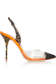 Daria PVC and patent-leather pumps