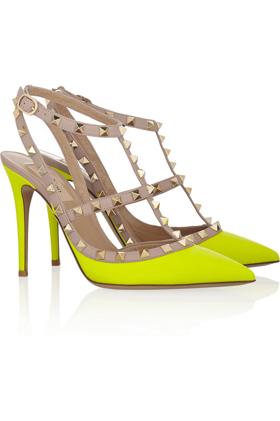 Valentino Shoes Rockstud Red