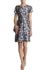 J.CrewCollection floral-print wool-blend dress