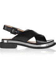 Caliba leather sandals