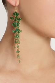 RosanticaZampillo gold-dipped agate earrings