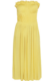 Sophia Kokosalaki Arke strapless stretch-jersey dress