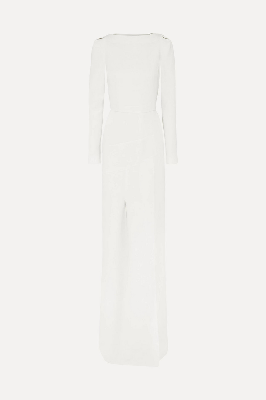 Roland Mouret Ella wool-crepe gown