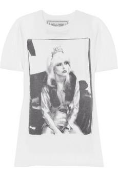 Buddhist PunkBlondie cotton T-shirt