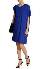 Maison Martin MargielaAsymmetric jersey-crepe dress