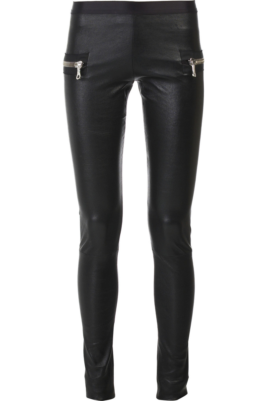 Les Chiffoniers Leather leggings | NET-A-PORTER.COM