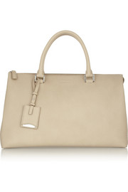 Jil Sander Medium leather bowling bag