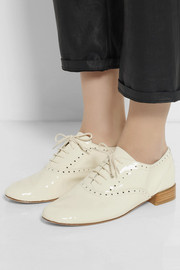 Repetto Patent-leather brogues