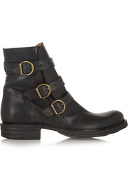 Fiorentini & Baker Edwin Eternity buckled leather ankle boots