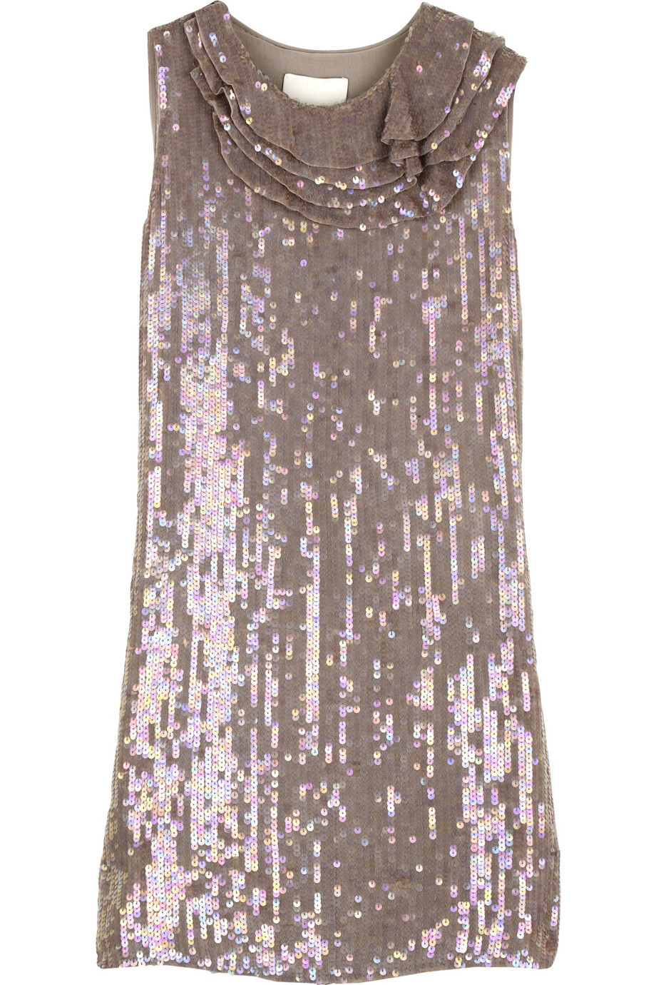 3.1 Phillip Lim Sequin-covered dress | NET-A-PORTER.COM from net-a-porter.com