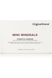 Original & Mineral Mini Minerals Hydrate & Conquer The Ultimate Hair Hydration Pack, 5 x 50ml