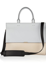 Victoria Beckham Two-tone leather tote