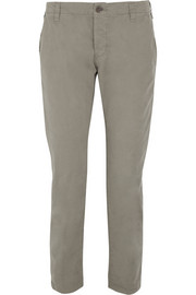 J Brand Inez cotton tapered pants