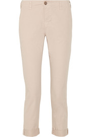 J Brand Inez mid-rise cotton tapered pants