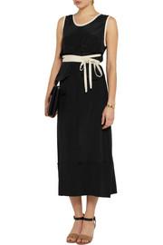 MarniSatin-jersey midi dress