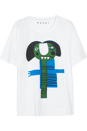 Marni Monster-print cotton T-shirt