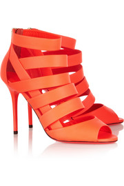 Jimmy ChooDamsen neon matte-leather sandals