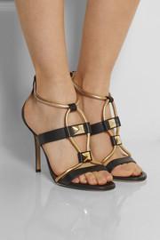 Jimmy ChooVenus leather sandals