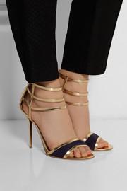 Jimmy ChooTolka metallic leather sandals