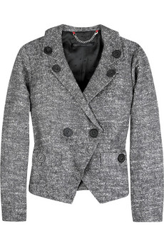 Marc by Marc Jacobs Tweed cropped blazer