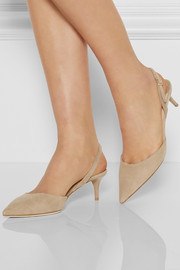 Jimmy Choo Tide suede slingback pumps