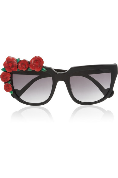 ANNA KARIN KARLSSON Rose detail sunglasses 59lduAOX
