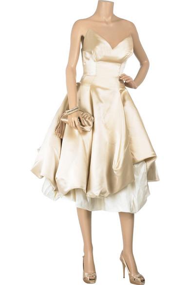 406ef0102cf Vivienne Westwood Gold Label. Lily wedding gown
