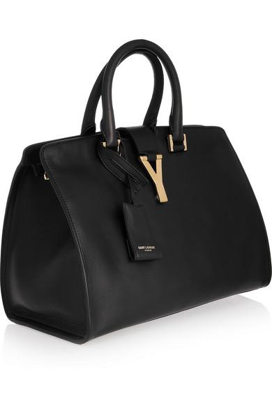 cf698b07413 SAINT LAURENT | Cabas Y leather tote | NET-A-PORTER.COM