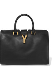 Saint Laurent Cabas Y leather tote