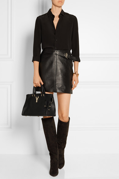 Saint Laurent | Cabas Y leather tote | NET-A-PORTER.COM
