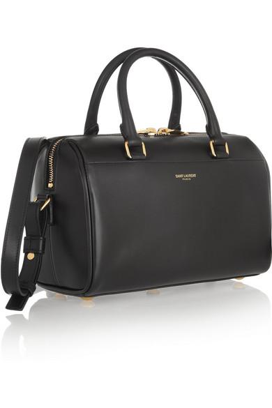 9c2abe00269 SAINT LAURENT   Classic Duffle mini leather bag   NET-A-PORTER.COM