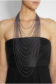 IAM by Ileana MakriGold-plated silver lapis lazuli necklace